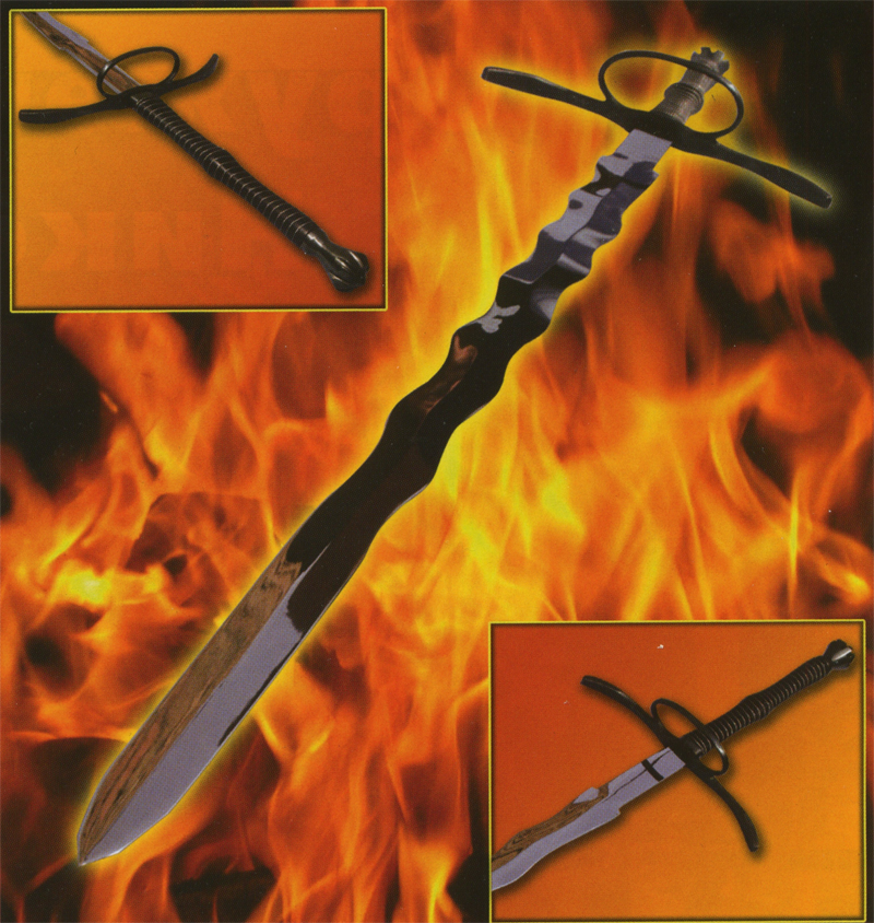 Двуручный мечь - фламберг