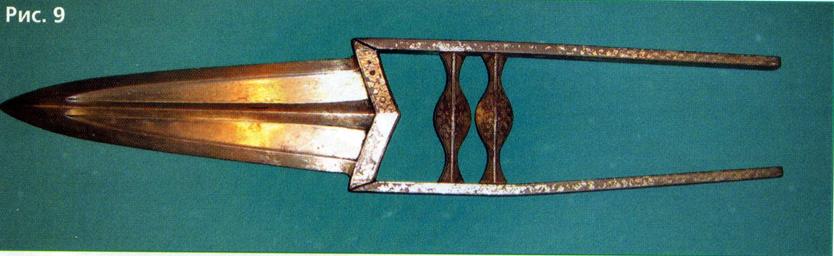 Раскрывающийся катар с несколькими лезвиями в сложенном состоянии